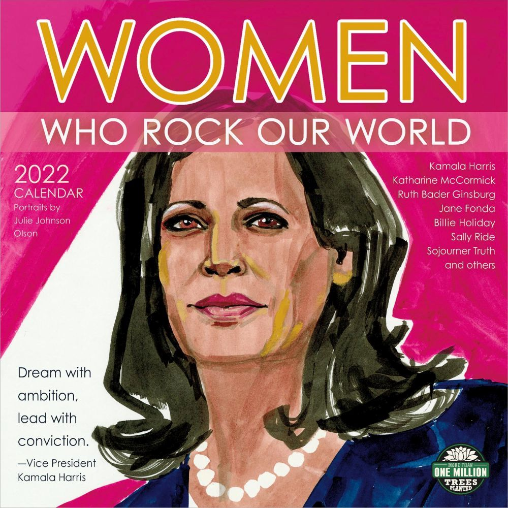 Women Who Rock Our World 2022 Wall Calendar