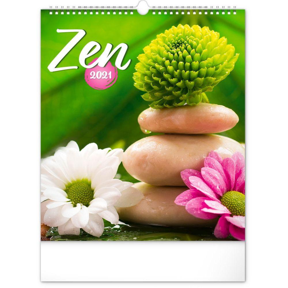 2021 Zen Poster Wall Calendar