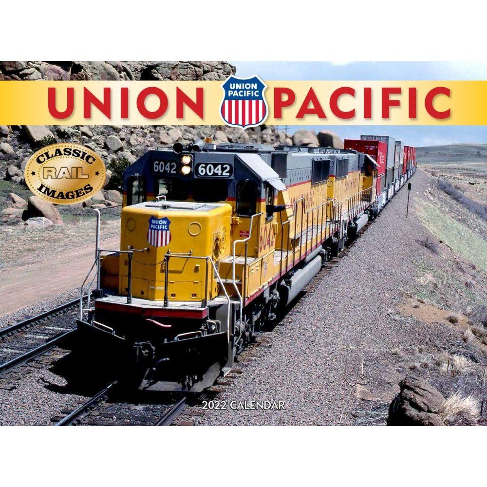 Trains Union Pacific Railroad 2022 Wall Calendar