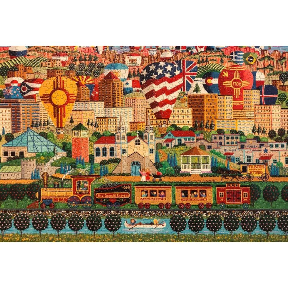 Best Albuquerque Express 750 Piece Puzzle You Can Buy