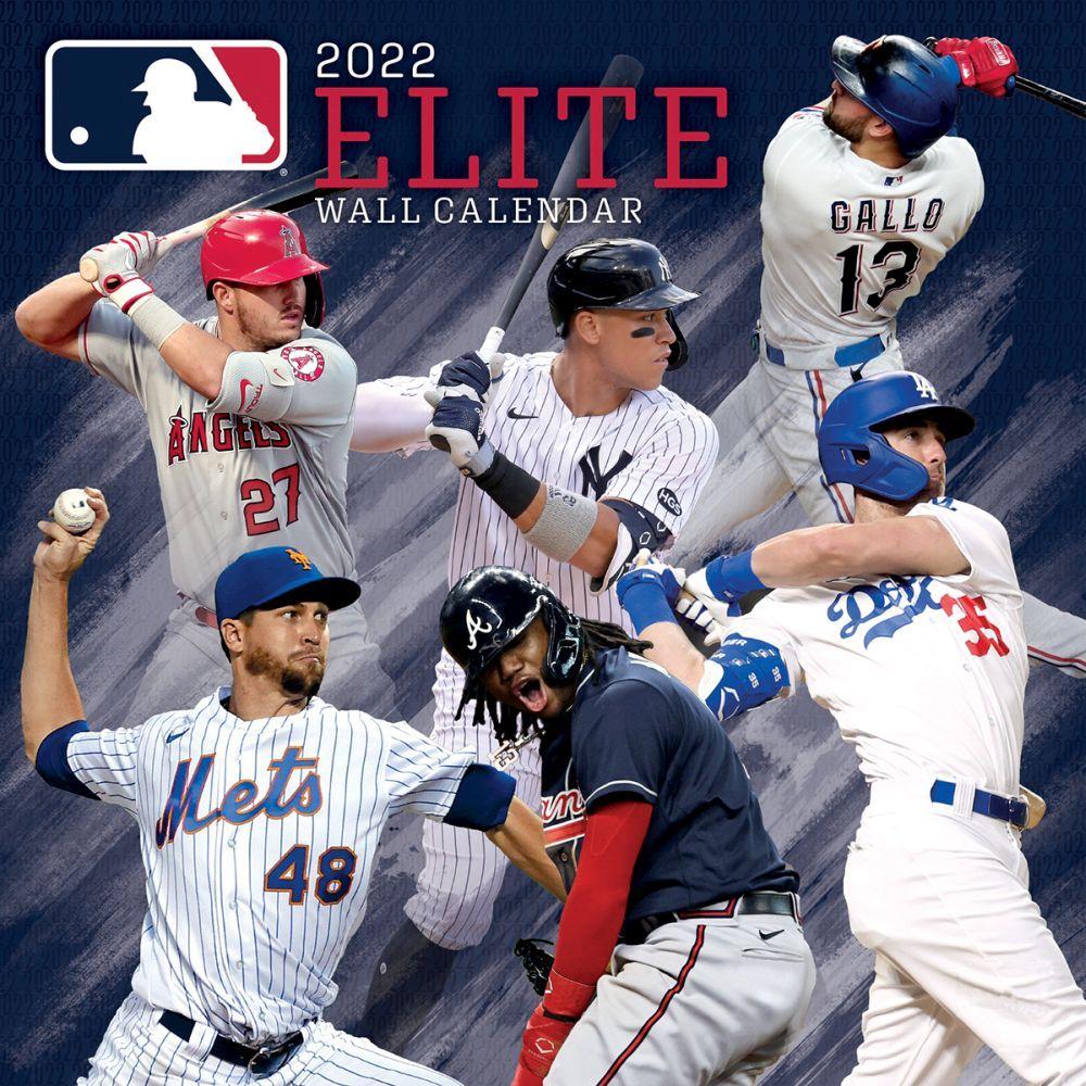 MLB All Stars 2022 Wall Calendar
