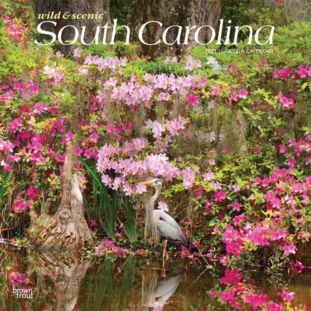 South Carolina Wild & Scenic 2021 Wall Calendar