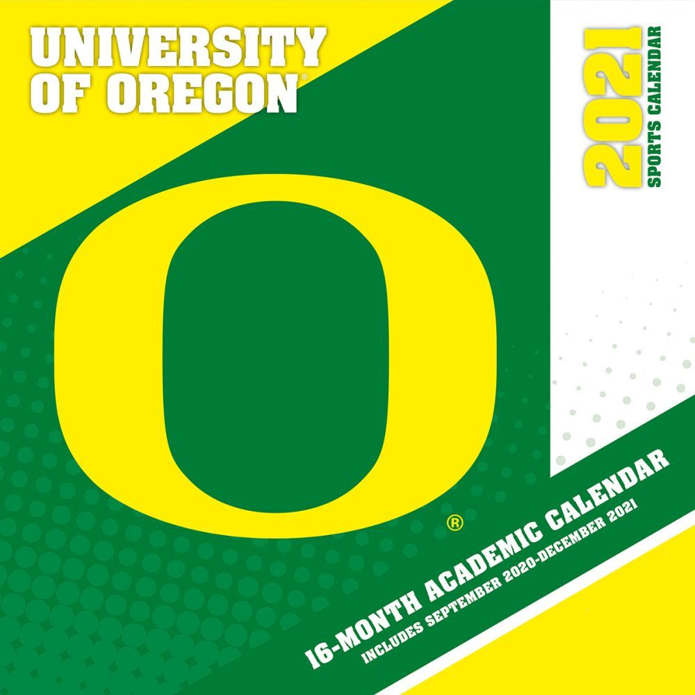 2021 Oregon Ducks Mini Wall Calendar