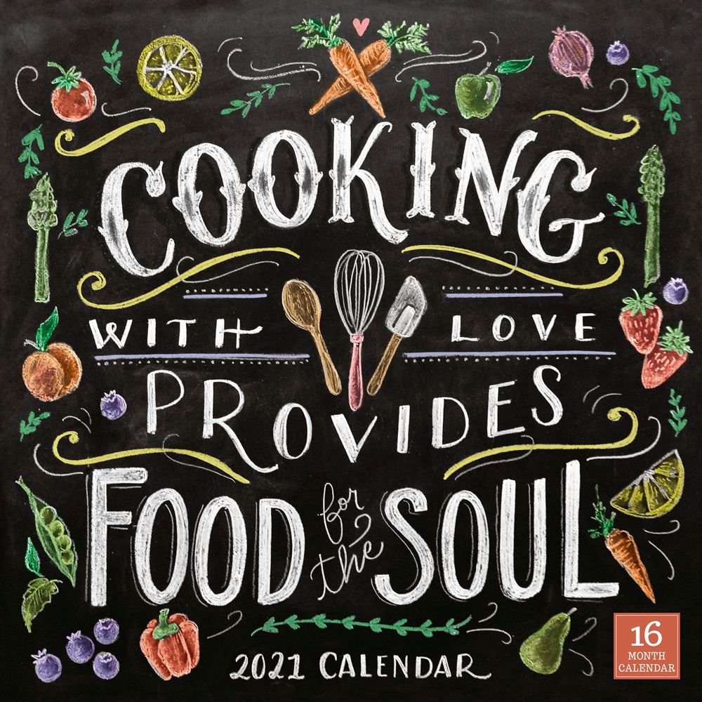 Cooking with Love 2021 Desk Calendar