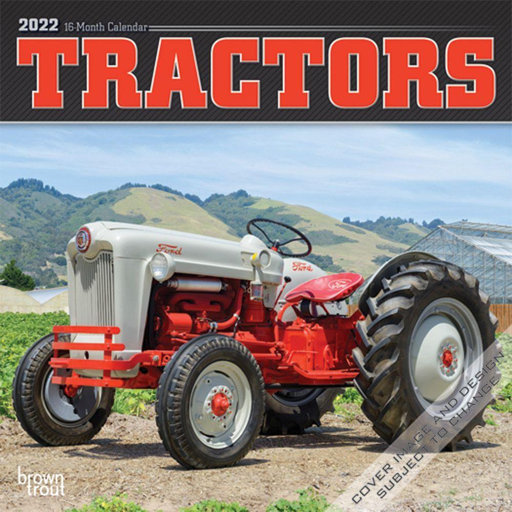 Tractors 2022 Mini Wall Calendar