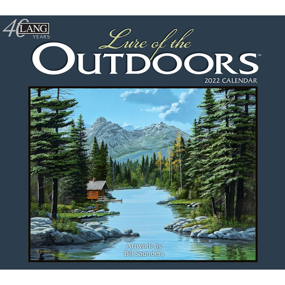 Lure Of The Outdoors 2022 Wall Calendar