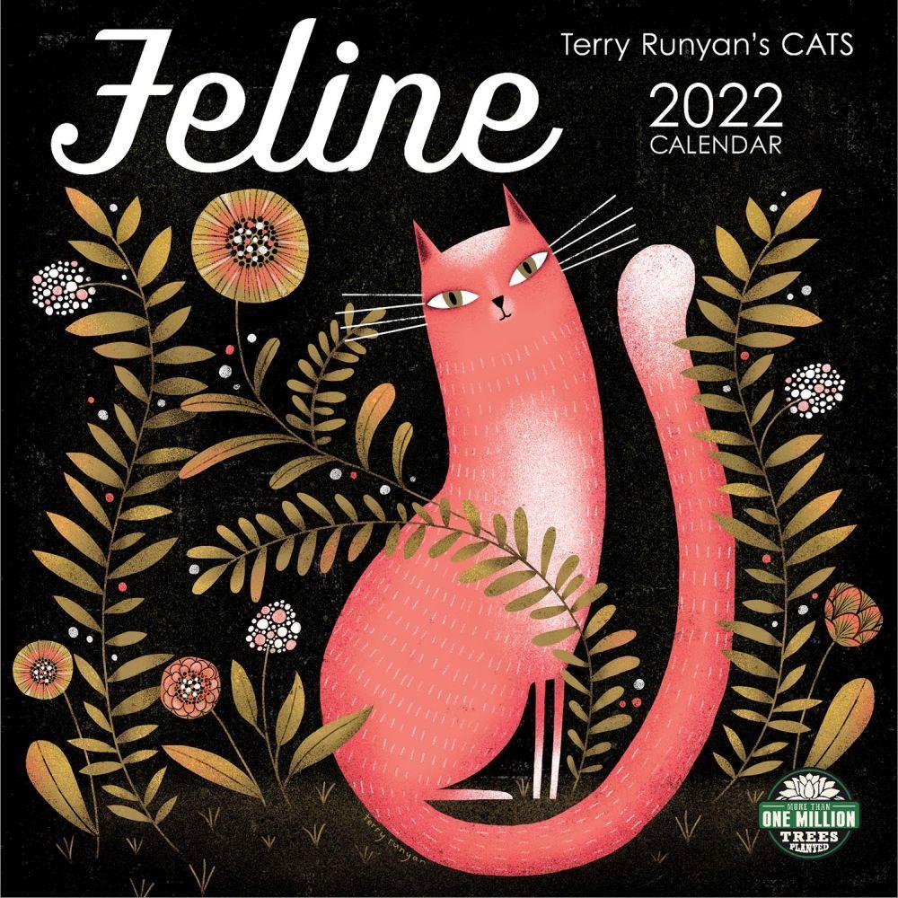 Feline Runyan Art 2022 Wall Calendar