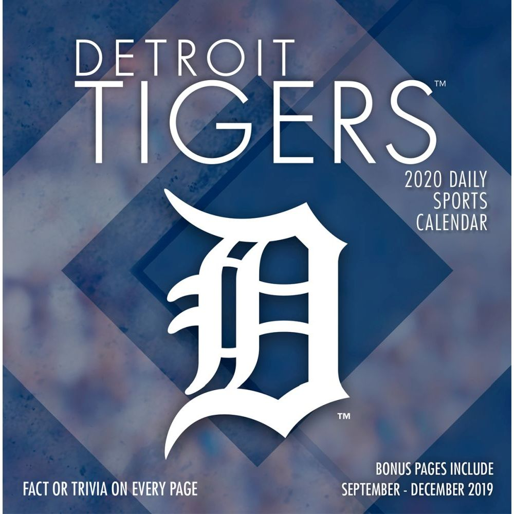 Detroit Tigers 2021 Desk Calendar