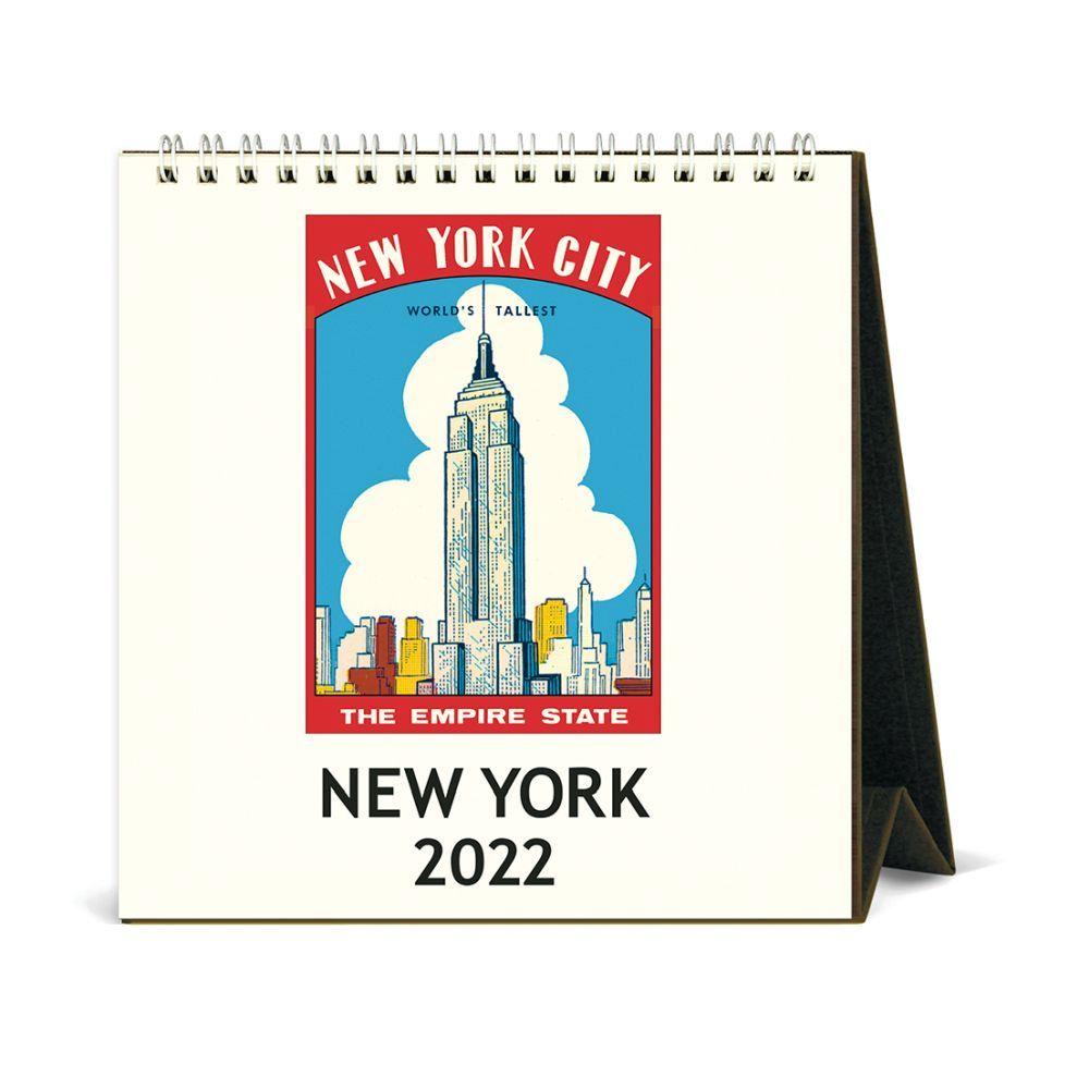 New York Art 2022 Easel Calendar