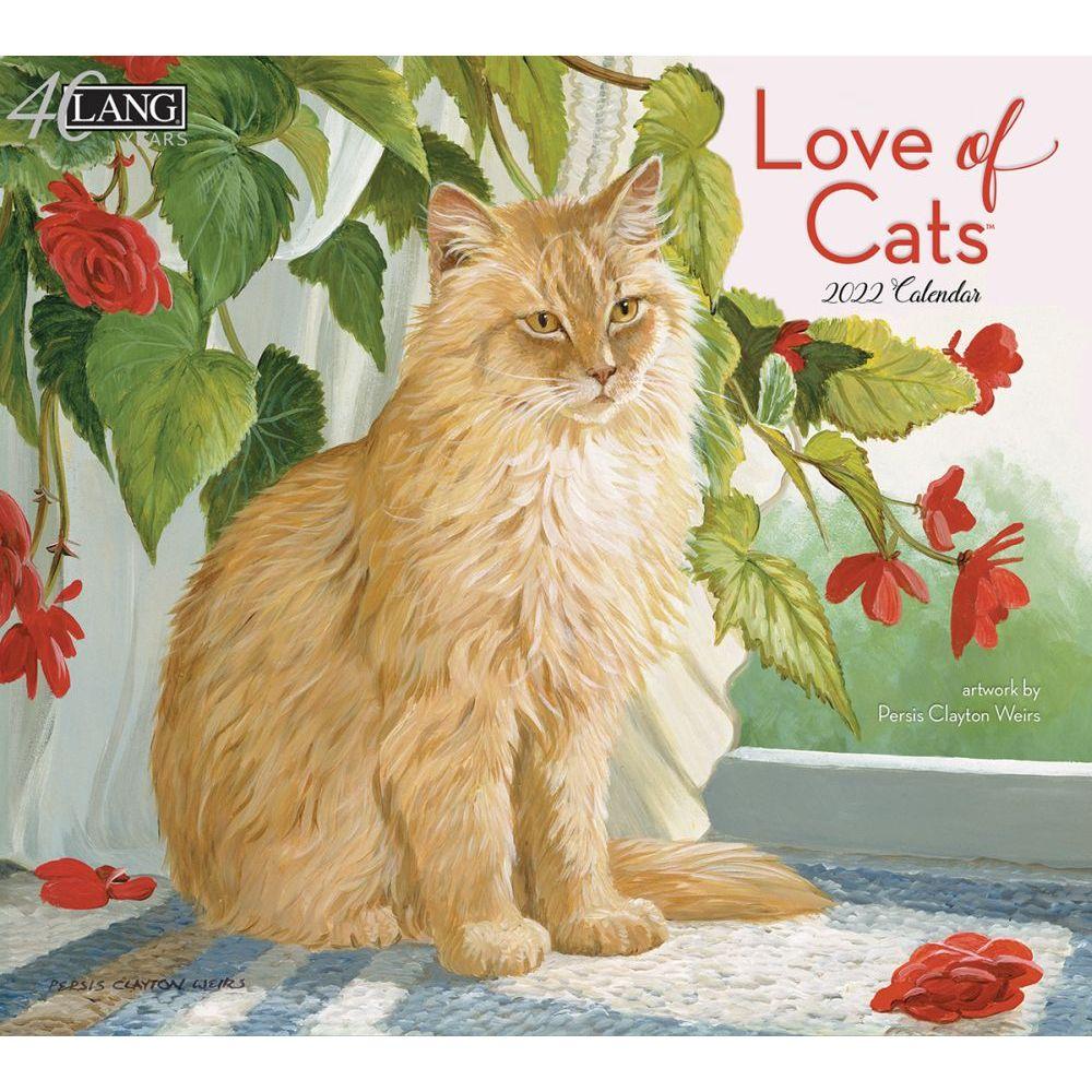 Love Of Cats 2022 Wall Calendar