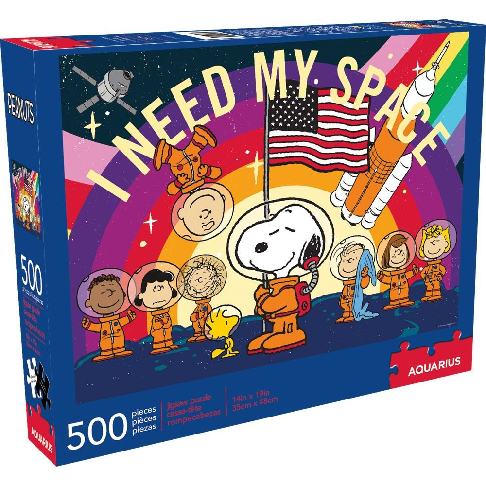 Peanuts Snoopy In Space 500pc Puzzle
