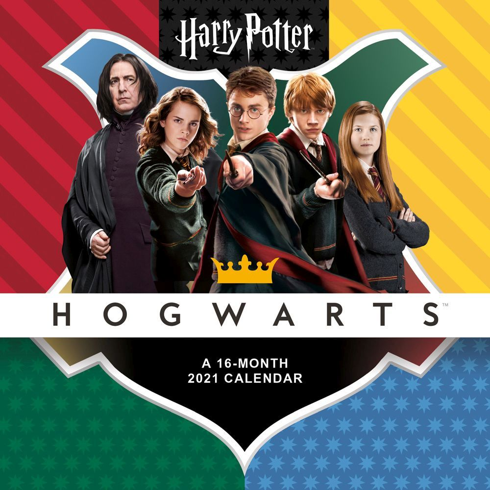 Harry Potter 2021 Mini Wall Calendar