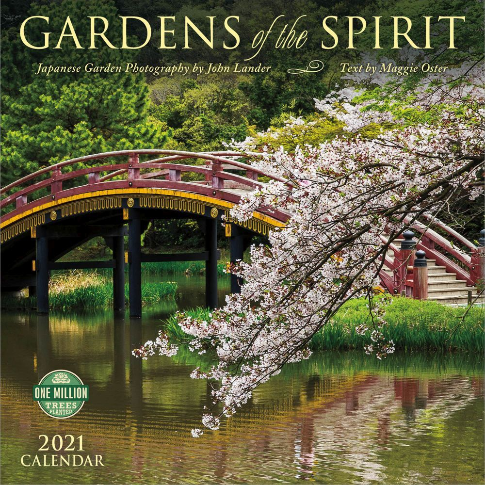 2021 Gardens of the Spirit Wall Calendar