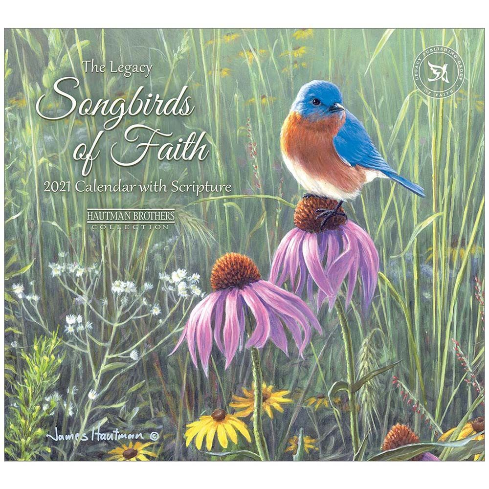 2021 Songbirds of Faith Hautman Wall Calendar