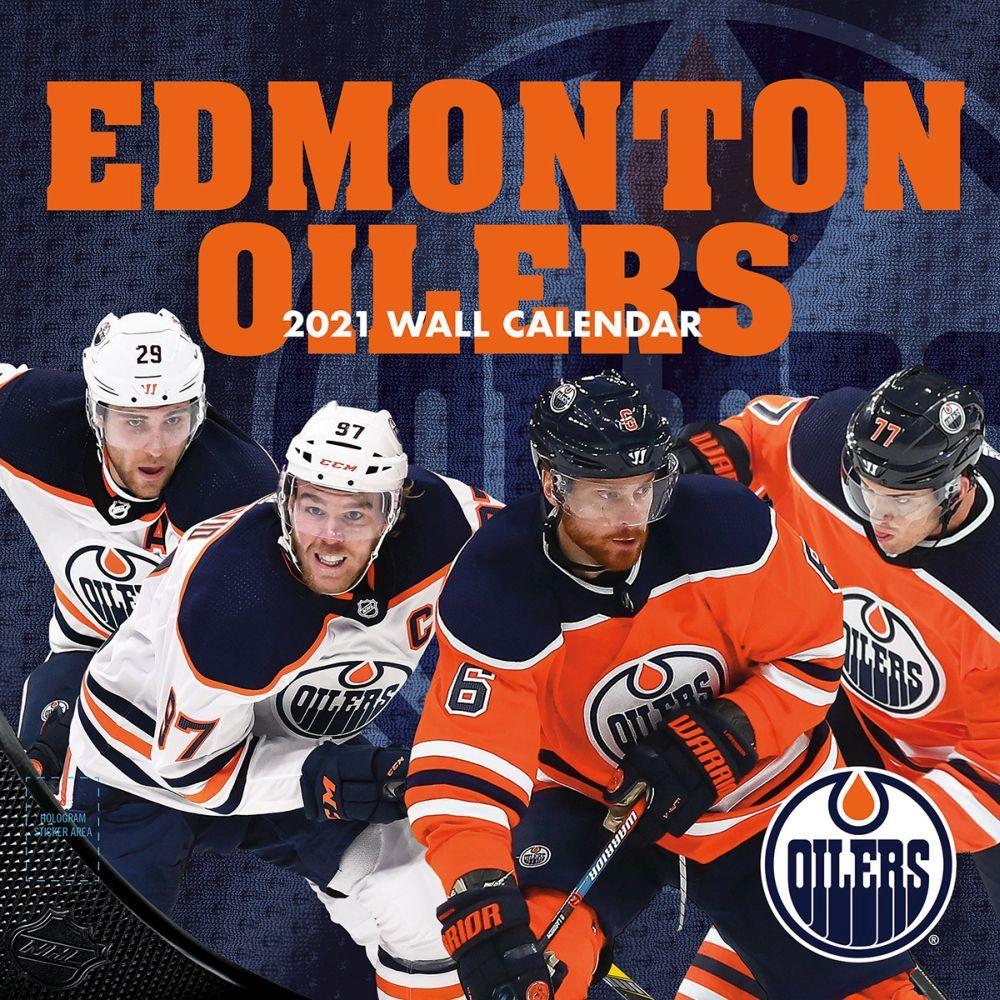 2021 Edmonton Oilers Wall Calendar