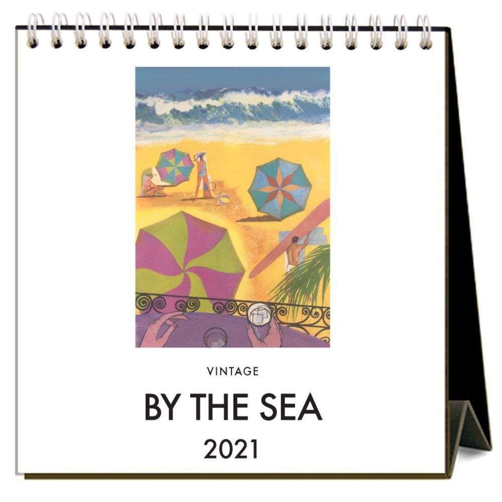 2021 By the Sea Easel Calendar