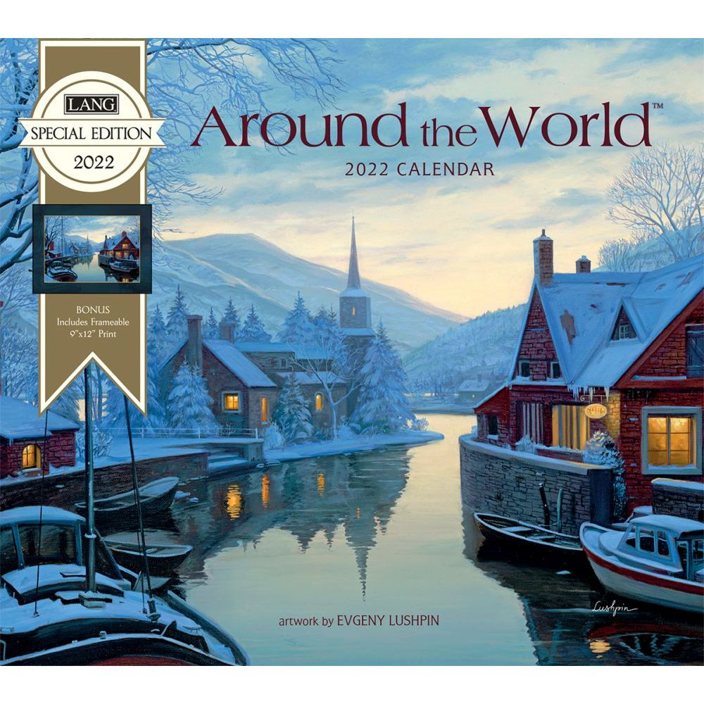 Around the World 2022 Special Edition Wall Calendar