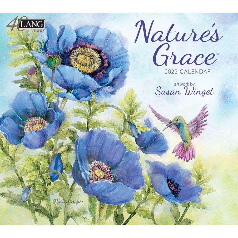 Susan Winget Nature's Grace 2022 Wall Calendar