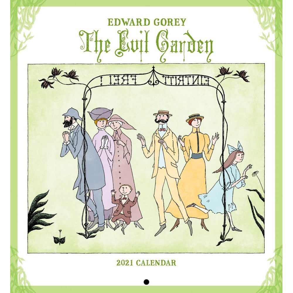 2021 Gorey Creatures Real and Imagined Mini Wall Calendar