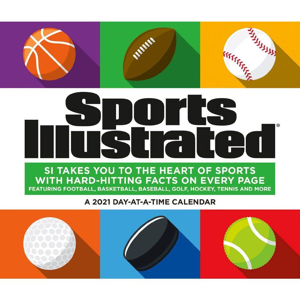 2021 SI Sports Desk Calendar