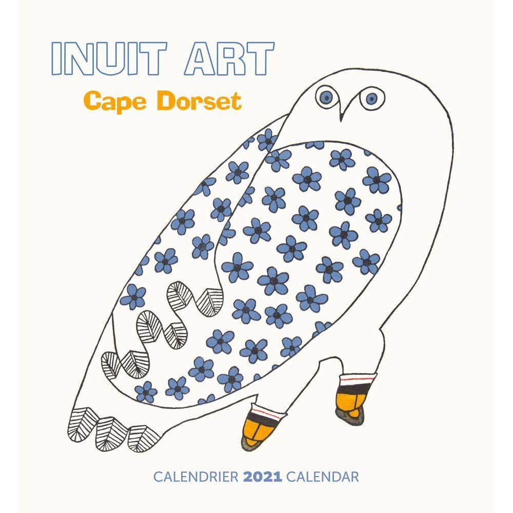 2021 Inuit Art Mini Wall Calendar