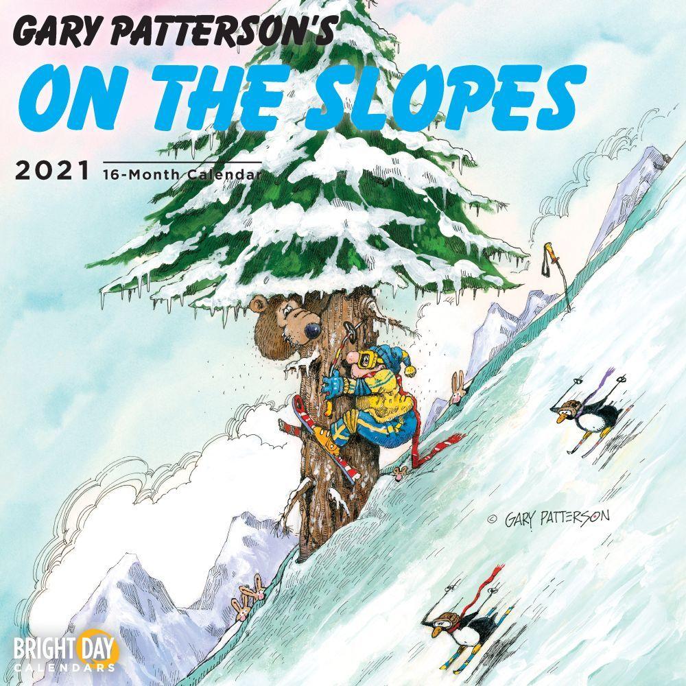2021 Patterson Skiing Wall Calendar