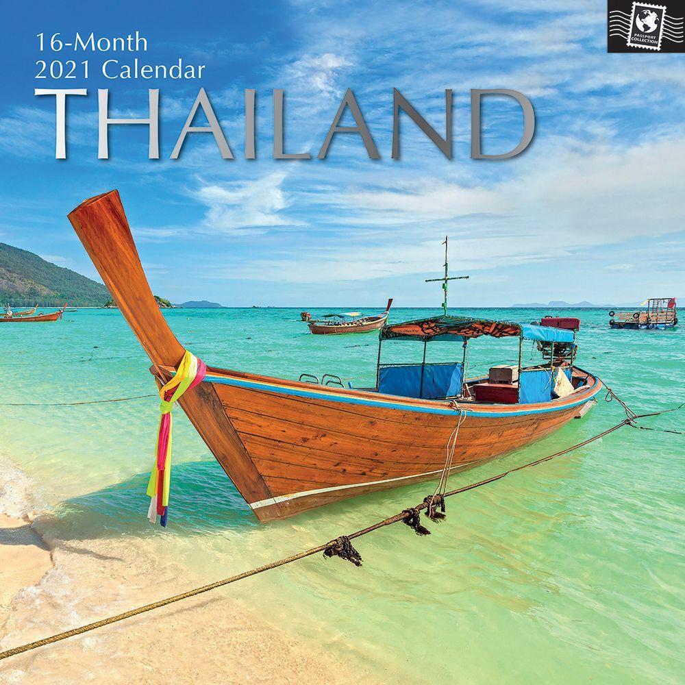 Thailand 2021 Wall Calendar