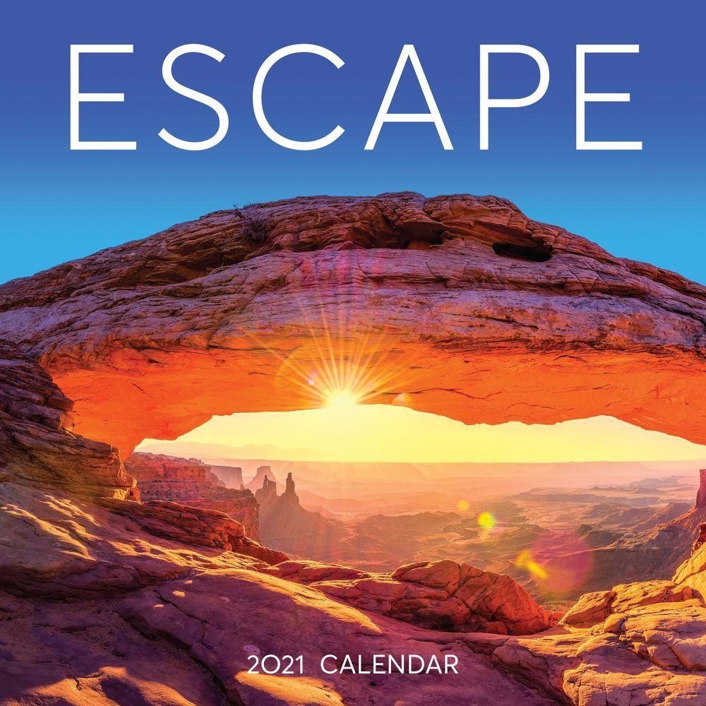 Escape 2021 Wall Calendar