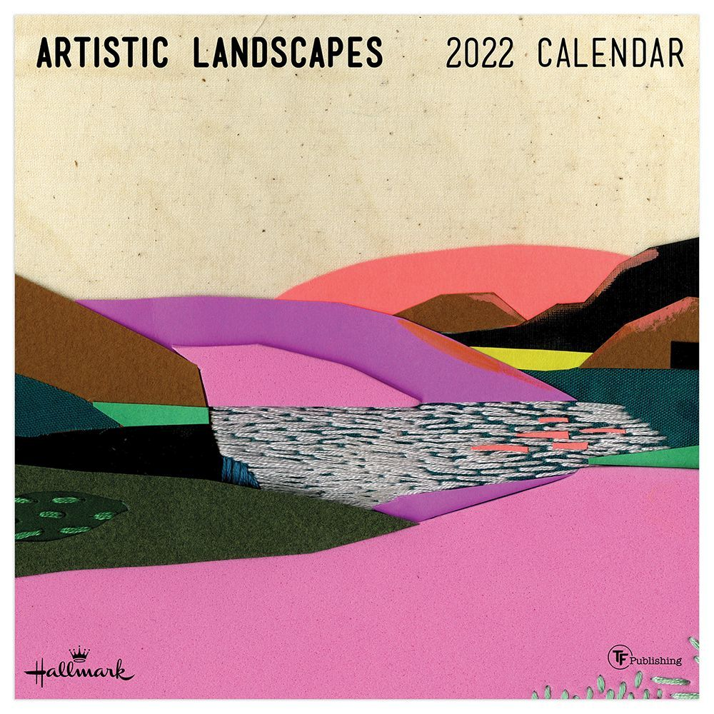 Artistic Landscapes 2022 Wall Calendar