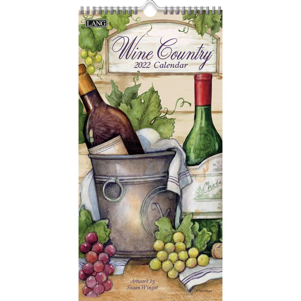 Wine Country Verical 2022 Wall Calendar