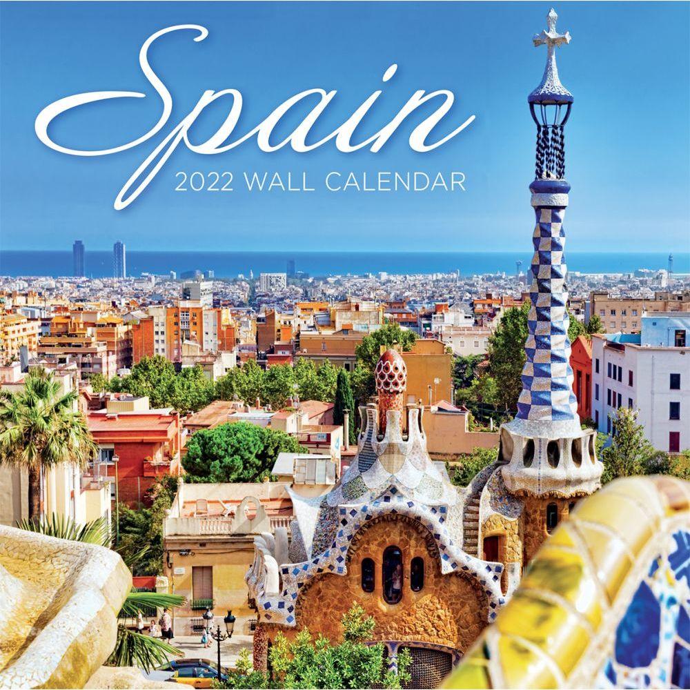 Spain 2022 Wall Calendar