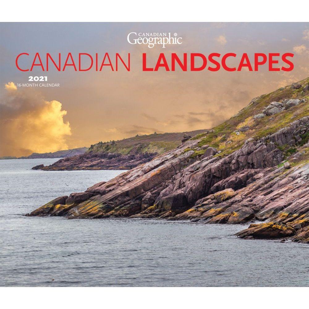 2021 Canada Wilderness Deluxe Wall Calendar