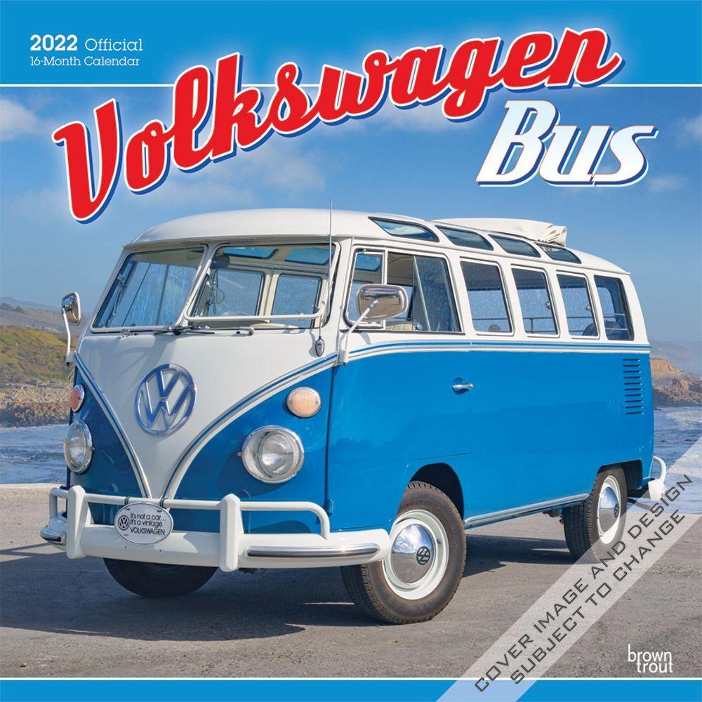 Volkswagen Bus 2022 Wall Calendar
