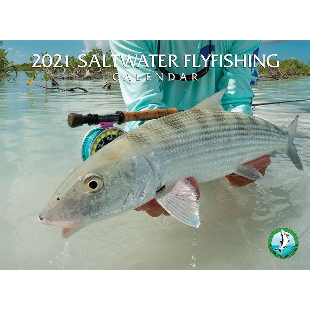 2021 Saltwater Fly Fishing Wall Calendar