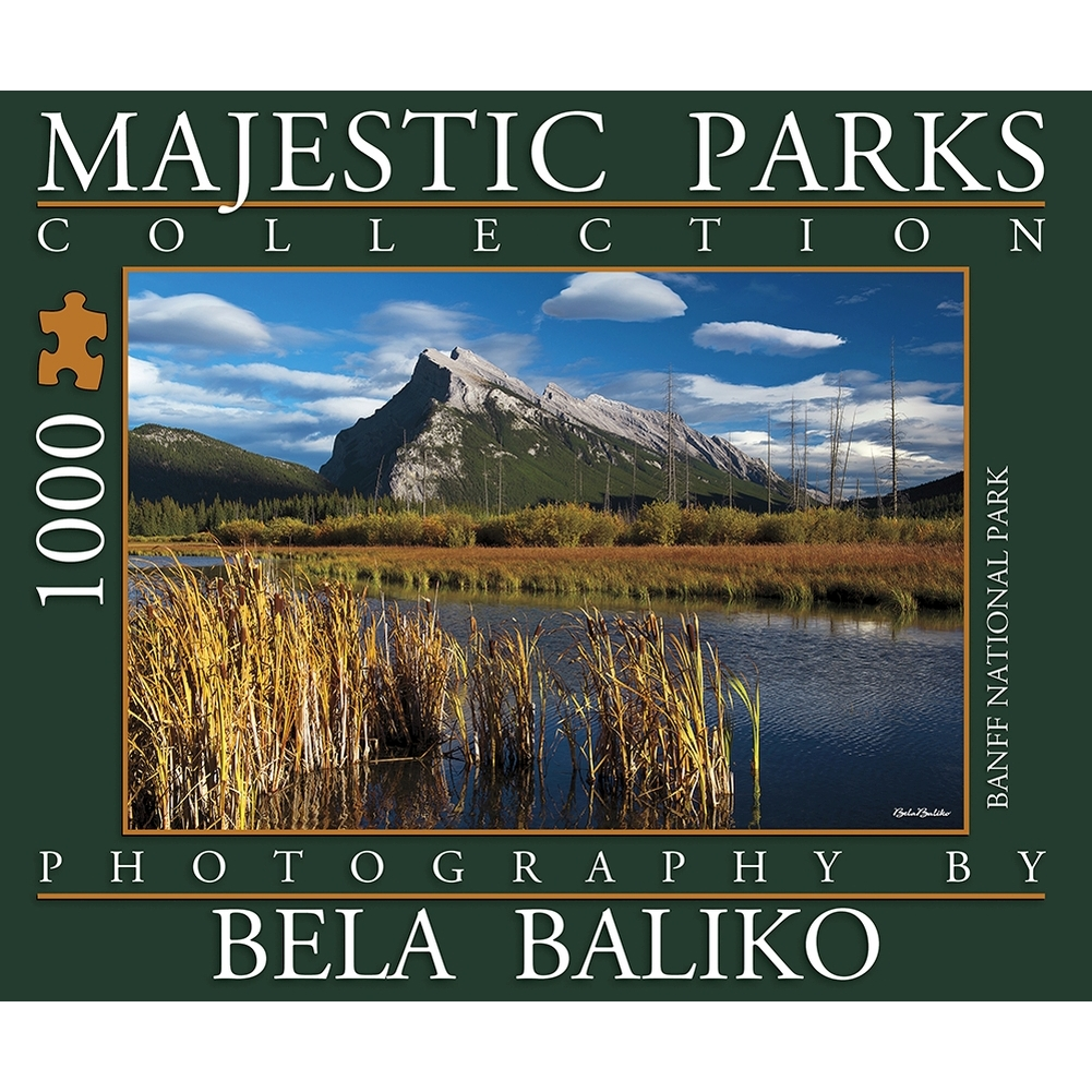Best Majestic Parks Mt Rundle 1000 Piece Puzzle You Can Buy