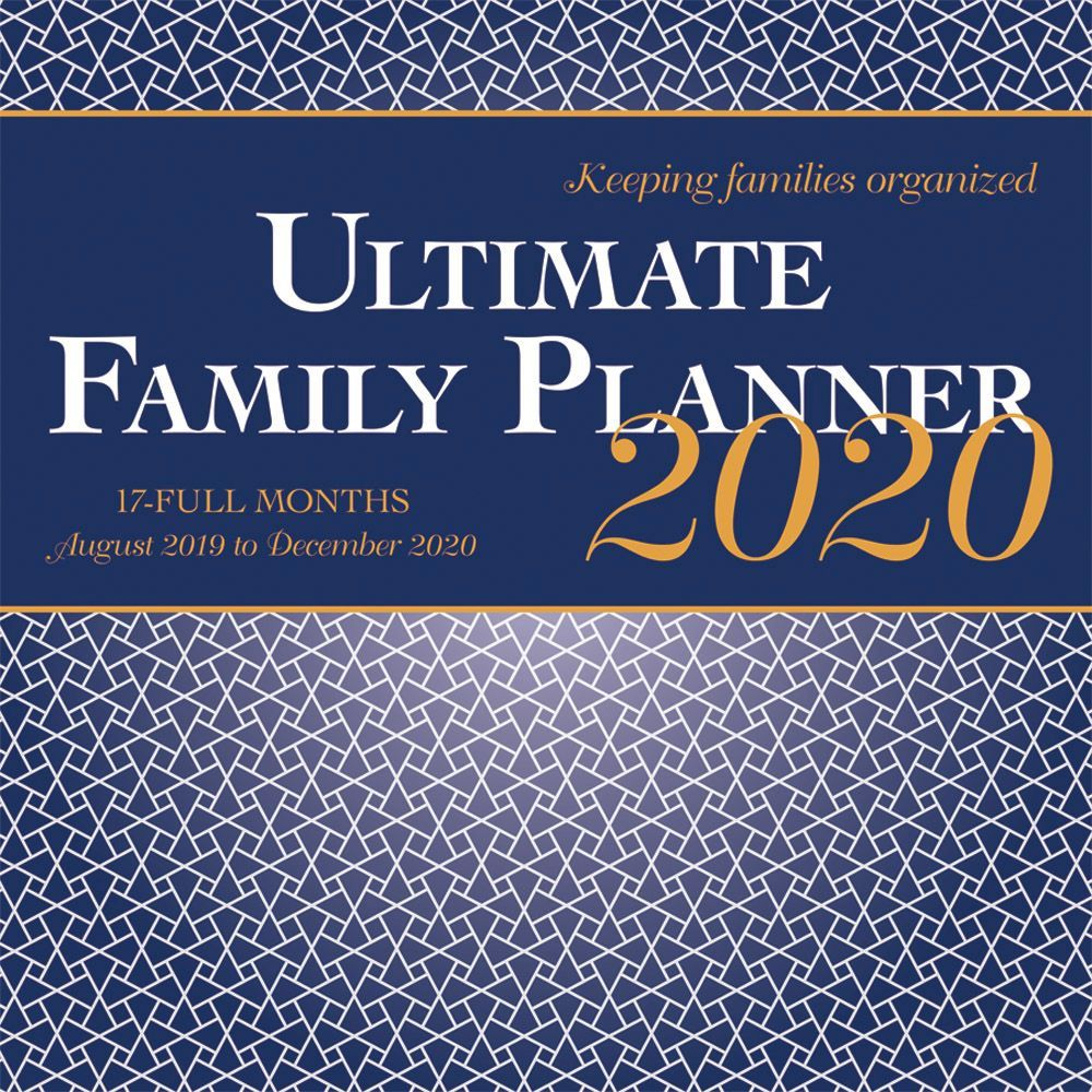 Ultimate Family Planner 2021 Wall Calendar