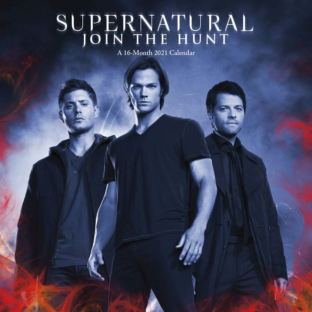 2021 Supernatural Mini Wall Calendar