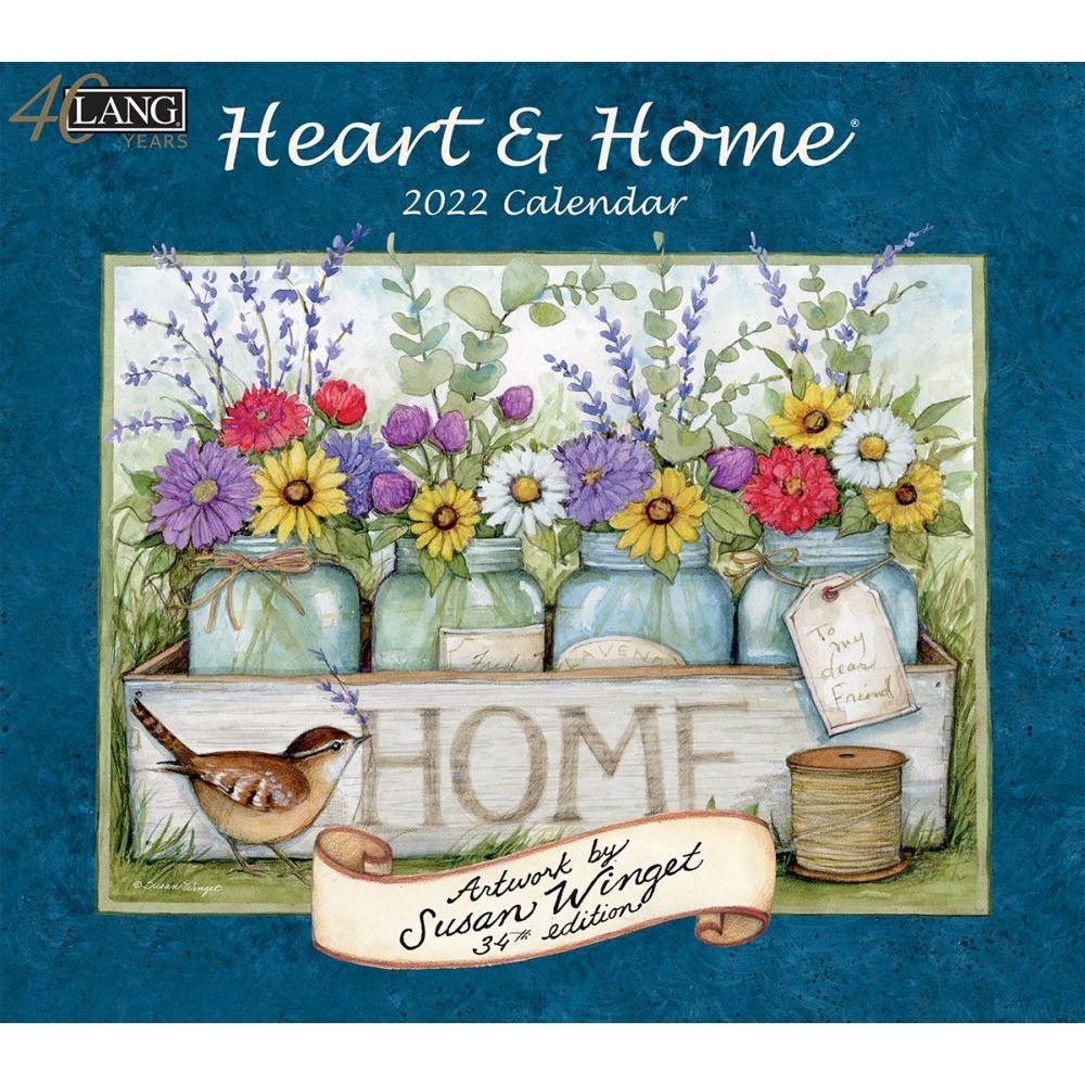 Susan Winget Heart & Home 2022 Wall Calendar