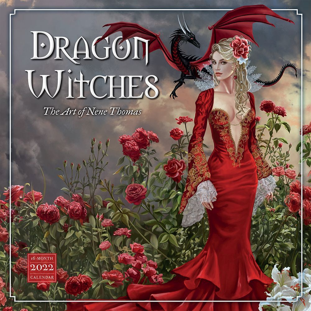 Dragon Witches 2022 Wall Calendar