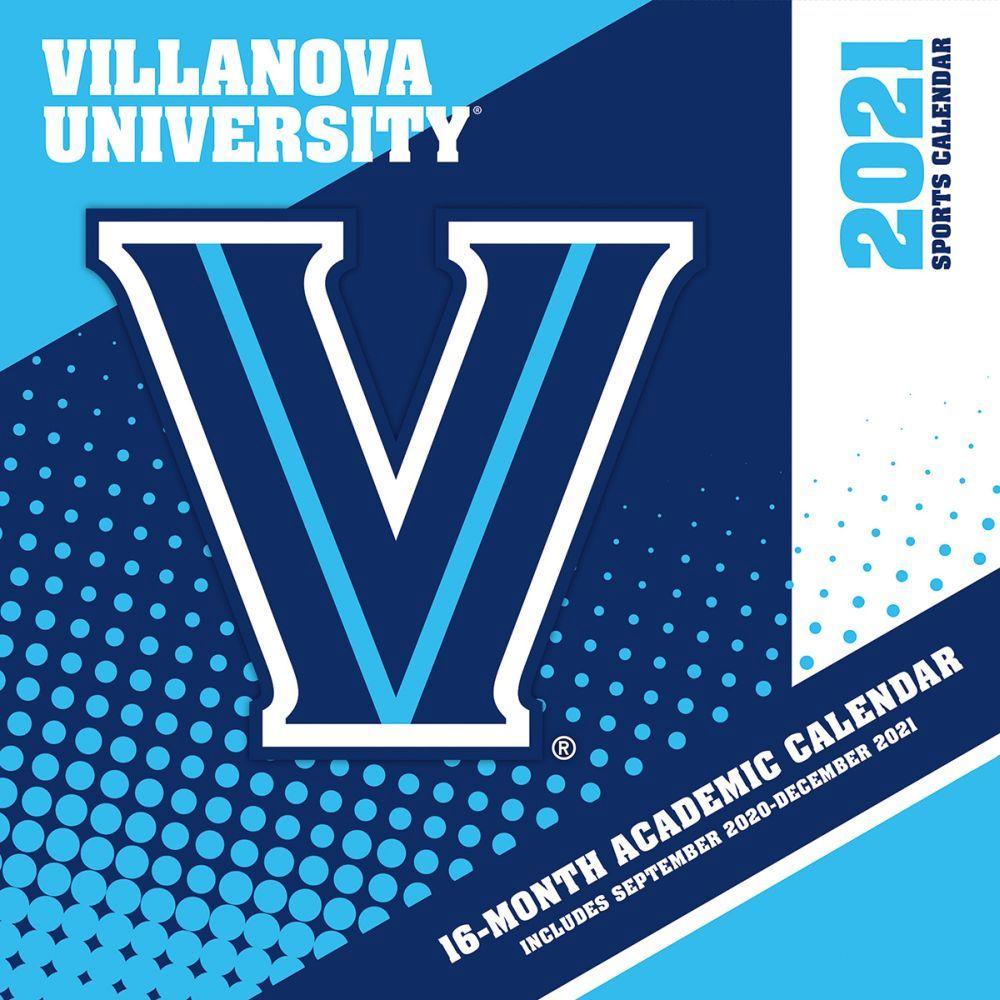 2021 Villanova Wildcats Wall Calendar