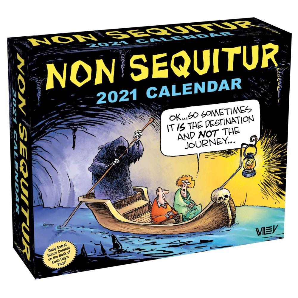 2021 Non Sequitur Desk Calendar