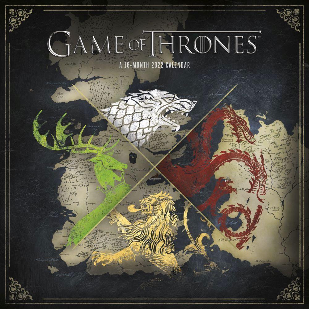 Game of Thrones 2022 Wall Calendar