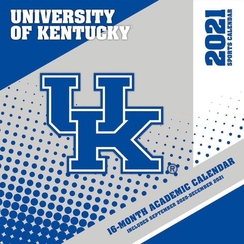 University of Kentucky Wildcats 2021 Wall Calendar