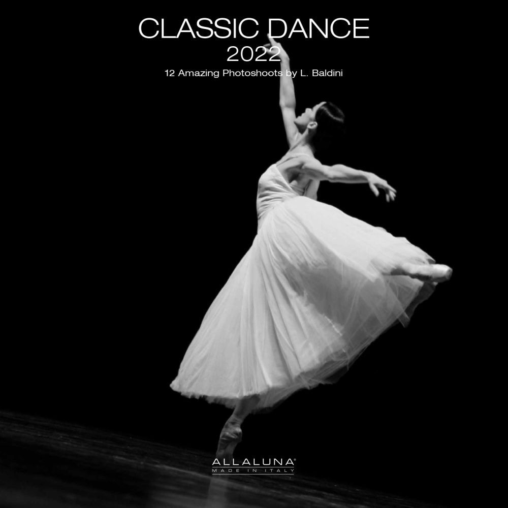 Dance Classic Alla Luna 2022 Wall Calendar