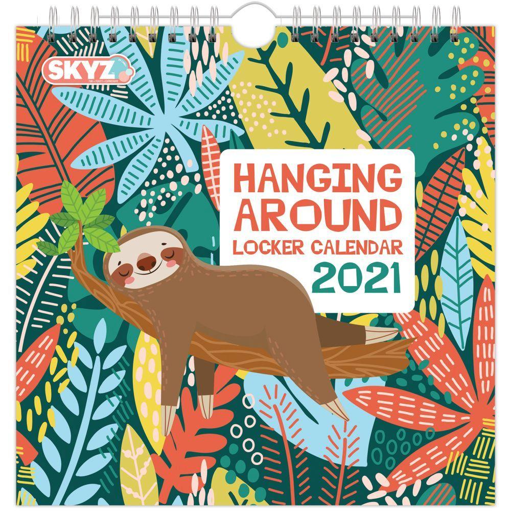 2021 Artsy Animals Locker Calendar