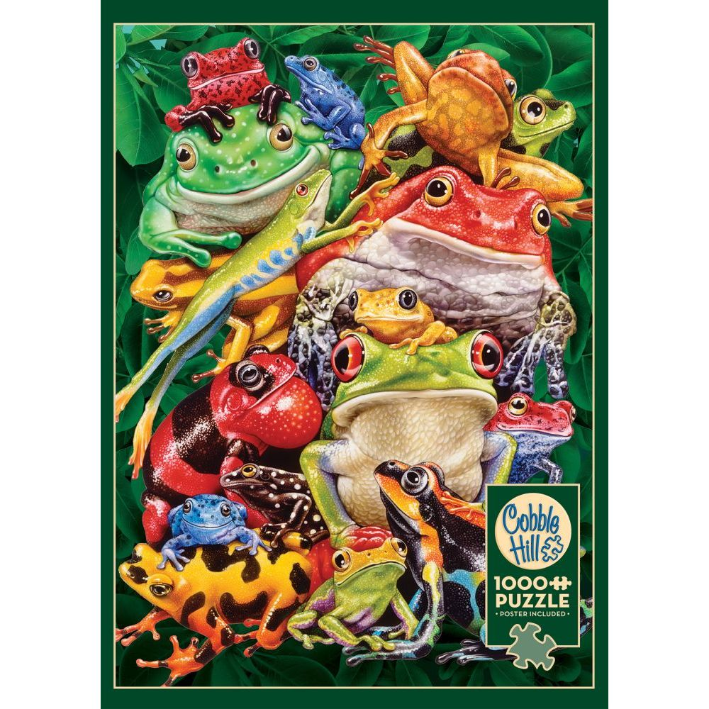 Best Frog Business 1000pc Puzzle You Can Buy