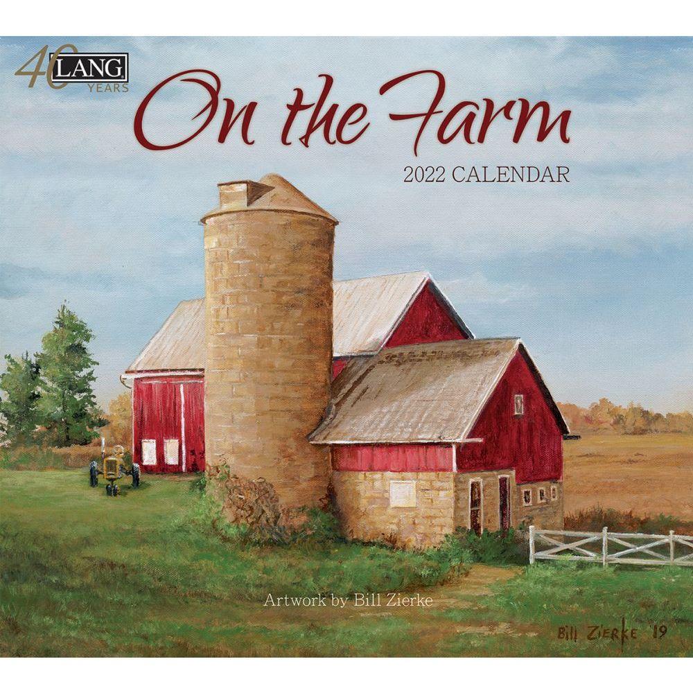 On The Farm 2022 Wall Calendar