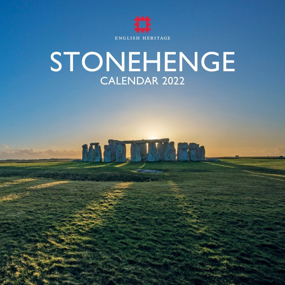 English Heritage Stonehenge 2022 Wall Calendar