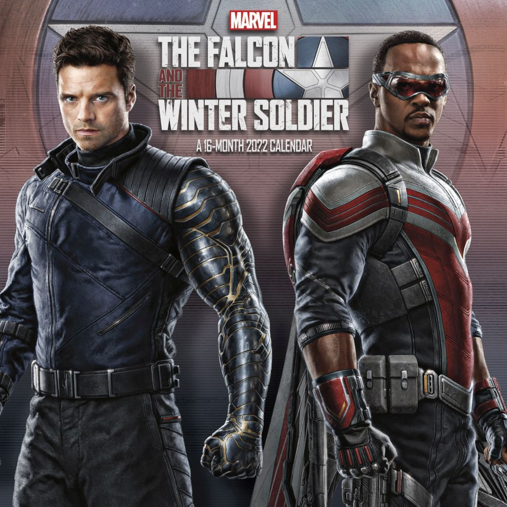 The Falcon and the Winter Solider 2022 Wall Calendar
