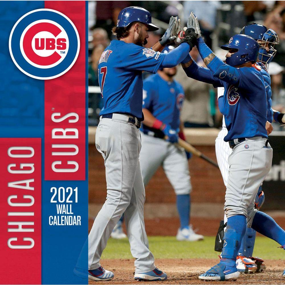 Chicago Cubs 2021 Wall Calendar